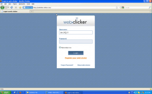 The new web>clicker will look great on an iPhone!