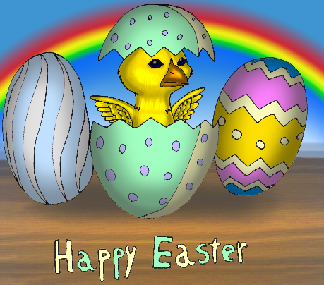 Happy easter lauras textbooks karlas happy easter greeting m4hsunfo