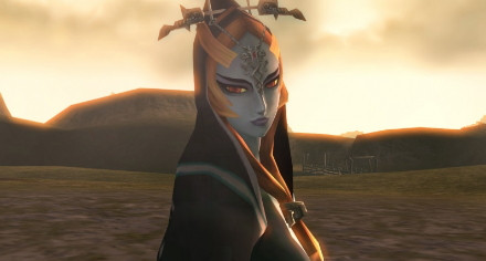 """Am I so beautiful that you've no words left?"" -- Midna"