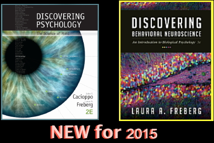 Our 2nd edition of Introductory and my 3rd edition of Behavioral Neuroscience
