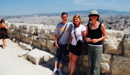 in 2009 , we presented at a wonderful Psychology Conference in Athens, Greece. A place everyone should visit.